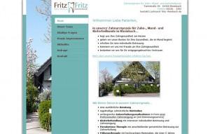 Screenshot Zahnarztpraxis für Zahn-, Mund- und Kieferheilkunde in Rheinbach