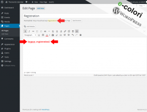 Event Registration WordPress Plugin - Form Slug and Shortcode