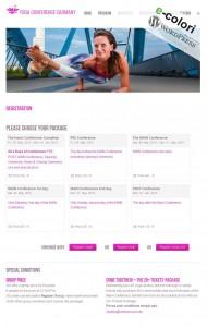 Registration WordPress Plugin Yoga Workshops