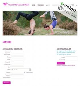 Wordpress Plugin Yoga Studio Anmeldung und Buchungen