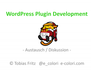 WordPress Plugin Development Austausch und Diskussion
