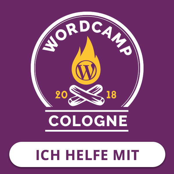 Wordcamp 2018 Köln, WordPress Cologne